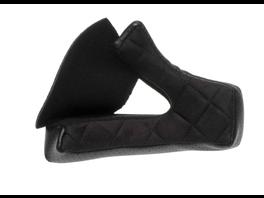 Bell MOTO-3 Wangenpolster (Velourskunstleder) schwarz 25mm