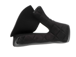 Bell MOTO-3 Wangenpolster (Velourskunstleder) schwarz 40mm
