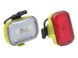 Blackburn Light Set Click USB hi viz yel