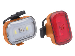 Blackburn Light Set Click USB orange