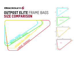 Blackburn Outpost Elite Frame Bag Large