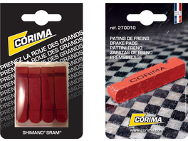 Corima Brake Pads (Blister of 4) Shim/Sram