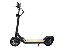 Egret TEN V4 schwarz mit Holz - SPECIAL EDITION - (StVZO) E-Scooter