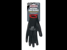 Finish Line Mechaniker-Handschuhe schwarz L/XL