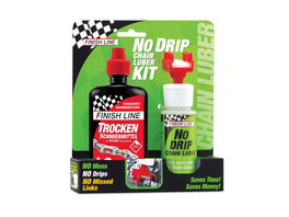Finish Line NoDripChainLuber Combo 120ml Dry Lube