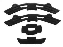 Giro Pad Set: Quarter Black M/L