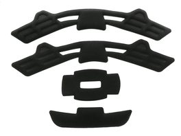Giro Pad Set: Quarter/Dime Black XS/S