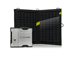 GoalZero Sherpa 50 Solar Recharging Kit