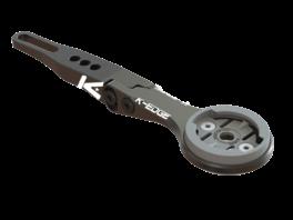 K-Edge Garmin Integr. H-Bar Combo Mt Black