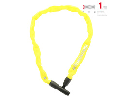 Kryptonite Keeper 465 Key Chain yellow