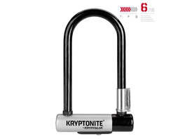 Kryptonite KryptoLok Mini-7 mit Flexframe-Halter