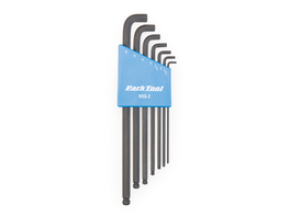 Park Tool HXS-3 Stubby Winkelschüssel-Set 1,5-6mm, mit Halter