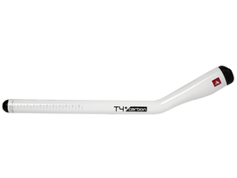 Profile Design T4+ Carbon Extensions white