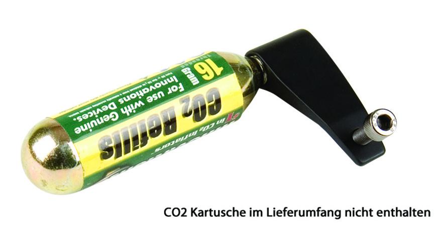 Profile Design CO2 Halter schwarz