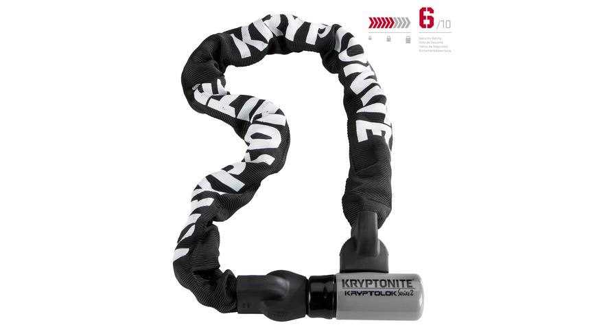 Kryptonite KryptoLok Series 2 Integrated Chain 995