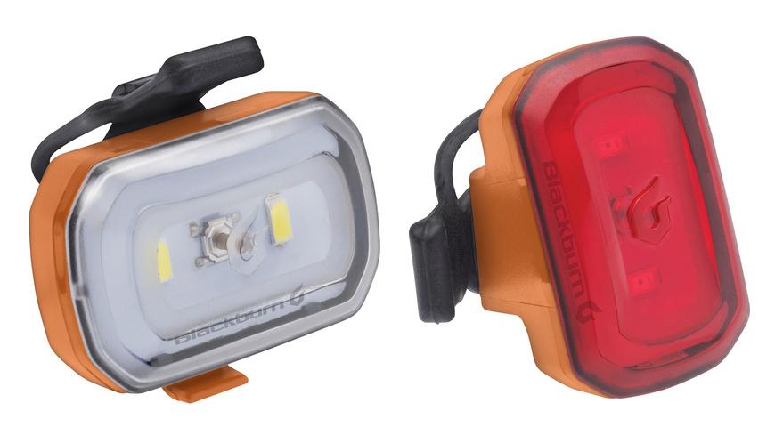 Blackburn Light Set Click USB orange