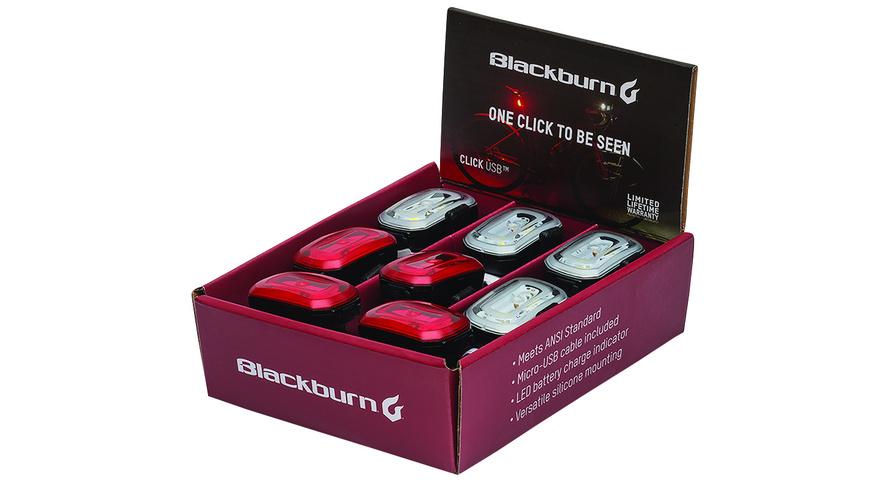 Blackburn Click USB blk PDQ (Displ.=4+4)