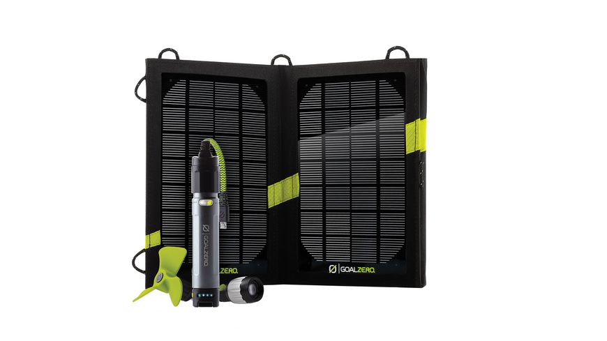 Goal Zero Switch 10 Solar Rech.Kit USB