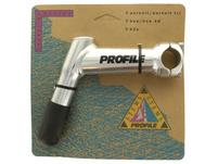 """Profile Design Vorbau Boa,1-1/8"""",120mm, 20°, silber"""