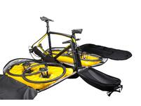 Biknd Helium V4 grau Fahrradtasche