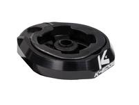 K-EDGE Lezyne Adapter black