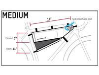 Blackburn Outpost Frame Bag - Medium