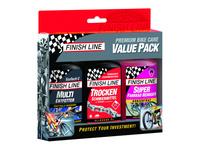 Finish Line Premium Bike Care Value Pack 3x120ml