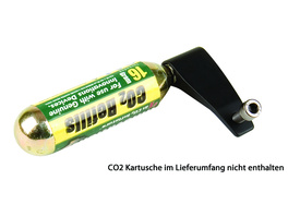 Profile Design CO2 Halter schwarz