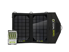 GoalZero Guide 10 Plus Solar Recharging Kit