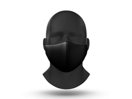 Gogglesoc Facemask Black